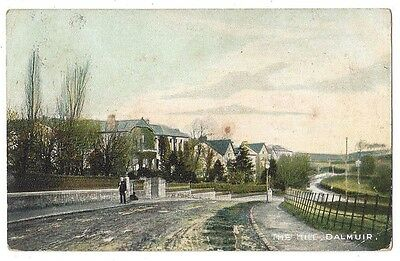 CLYDEBANK The Hill, Dalmuir, Old Postcard Postally Used c1907
