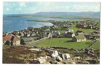 ORKNEY Stromness General View, RP Postcard Postally Used 1974