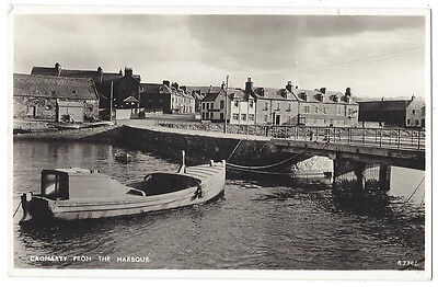 CROMARTY from the Harbour, RP Postcard by JB White, Unused