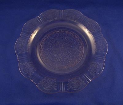 American Sweetheart Pink Depression Glass Dinner Plate 9 3/4``   1 Of 5