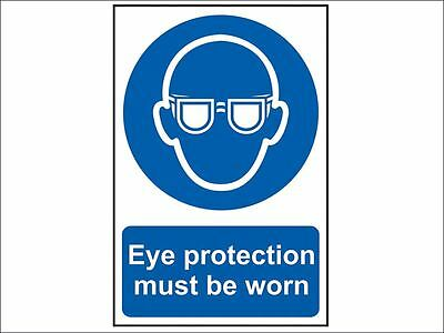 Scan - Eye Protection Must Be Worn - PVC 200 x 300mm