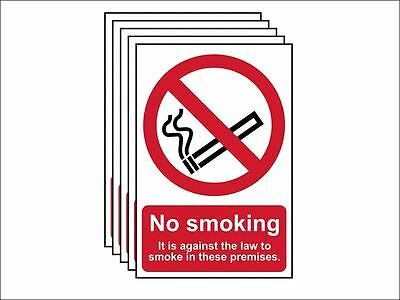 Scan - No Smoking In These Premises PVC 200 x 300mm