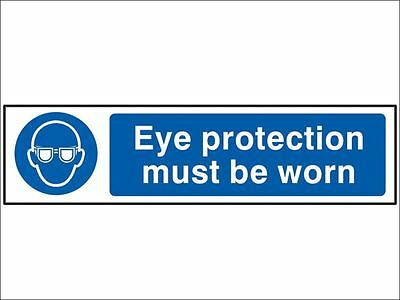 Scan - Eye Protection Must Be Worn - PVC 200 x 50mm