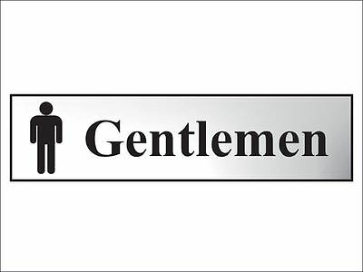 Scan - Gentlemen - Polished Chrome Effect 200 x 50mm