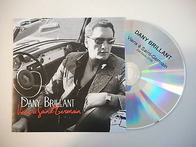 DANY BRILLANT : VIENS A SAINT GERMAIN (REMIX RADIO) ★ CD PROMO  Port Gratuit ★
