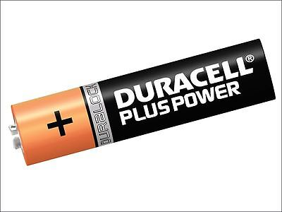 Duracell - AAA Cell Plus Power Batteries Pack of 4 RO3A/LR0 - S3584