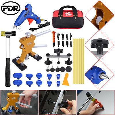 PDR Tools Dent Lifter Paintless Hail Repair Removal Glue Gun Tap Down Hammer kit