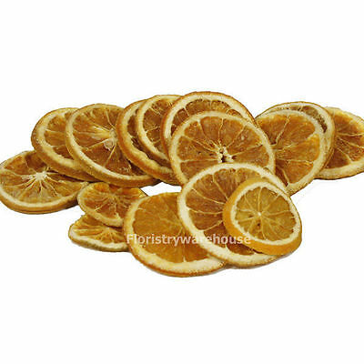 Dried orange slices (x 12) 4-5cm diameter New crop, bright colour, fresh scent