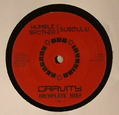 "HUMBLE BROTHER meets SUBZULU - Gravity - Vinyl (7"")"