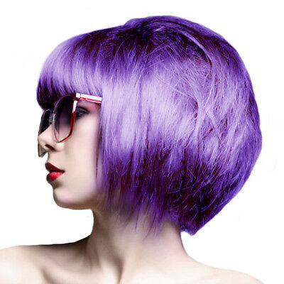 Crazy Color Coloration Semi Permanente Hot Purple Joli Violet Pro Mèche Couleur