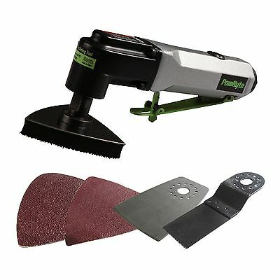 PowRyte Basic Multi-Function Air Oscillating Tool with 5 Attachments