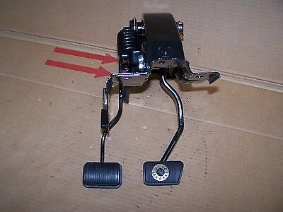 Mustang 4 speed clutch and POWER brake pedals restored 71 72 73