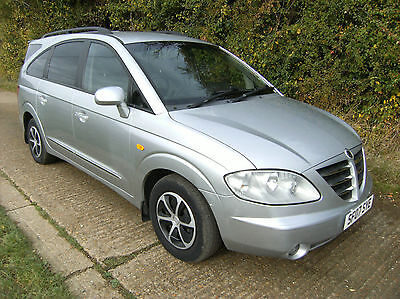 Ssangyong Rodius 2.7TD 2007 S 7 Seater