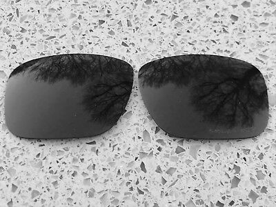 Engraved Polarised Onyx Black Replacement Oakley Holbrook Lenses
