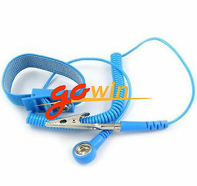 Tool Sets Hand Tool Sets Honest Blue Anti Static Esd Wrist Strap Elastic Band With Clip For Sensitive Electronics Repair Work Tools