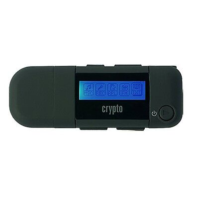Crypto MP310 8 GB MP3 Player with FM Radio Voice Recorder AAA Battery - Black