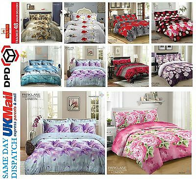 Duvet Cover Sets 3D Animal Print Bedding Pillow Cases King Size Double Single
