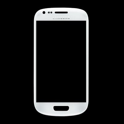 Front Screen Glass Replacement for Samsung Galaxy S3 mini WHITE