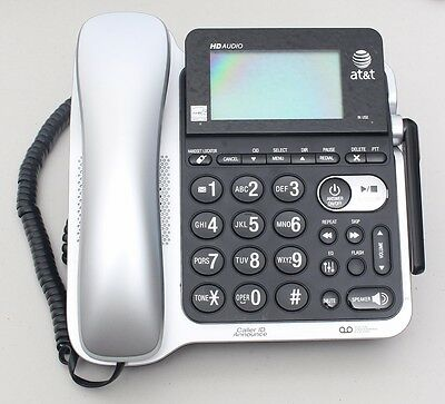 AT&T Corded Answering System with Caller ID/Call Waiting CL84202 Phone USED