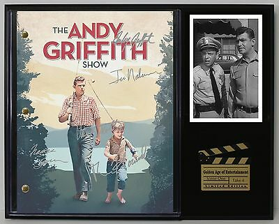 The Andy Griffith Show - Autograph Reprint TV Script Display - USA Ships Free