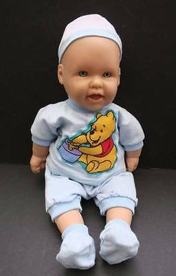 Berenguer Baby Boy Dressed Doll Winnie The Pooh Outfit - 40cm