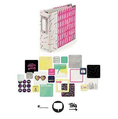 We Are Memory Keepers Instagram Album Kit IT FACTOR, Project Life Scrapbooking
