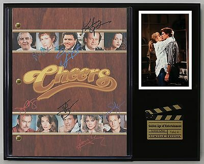 Cheers - Reprinted Autograph TV Script Display - USA Ships Free