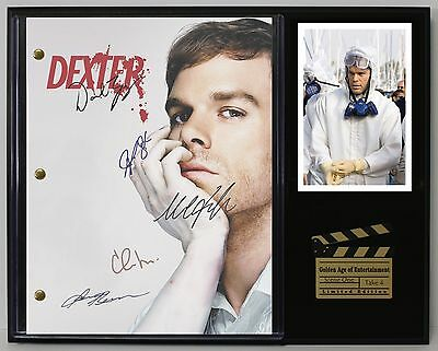 Dexter - Reprinted Autograph TV Script Display - USA Ships Free