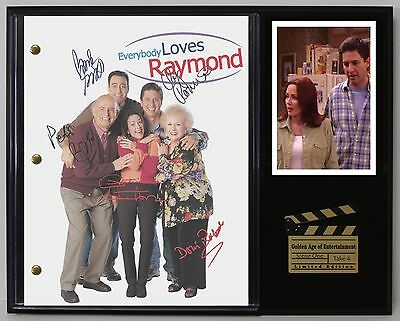 Everybody Loves Raymond Reprinted Autograph TV Script Display - USA Ships Free