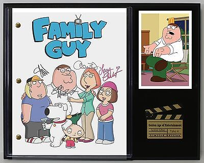 Family Guy - Reprinted Autograph TV Script Display - USA Ships Free