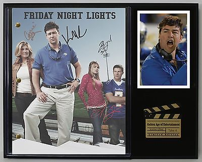 Friday Night Lights - Reprinted Autograph TV Script Display - USA Ships Free