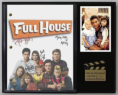Full House - Reprinted Autograph TV Script Display - USA Ships Free
