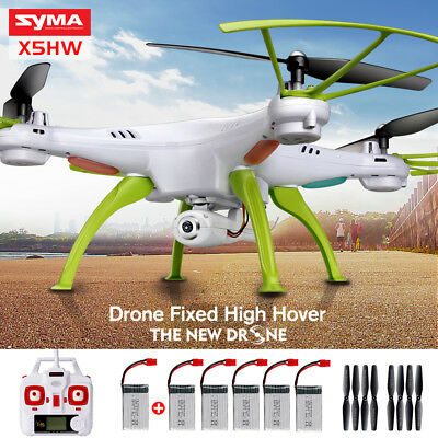Syma X5HW 2.4G 4CH WIFI Camera FPV Real-time RC Quadcopter Drone Helicopter UFO