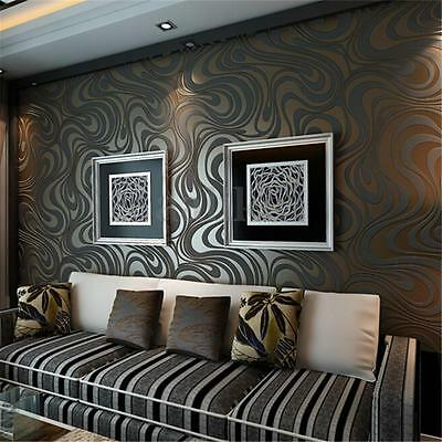 3D Modern Luxury Wallpaper Background Mural Bedroom Living Room Roll Home Decor