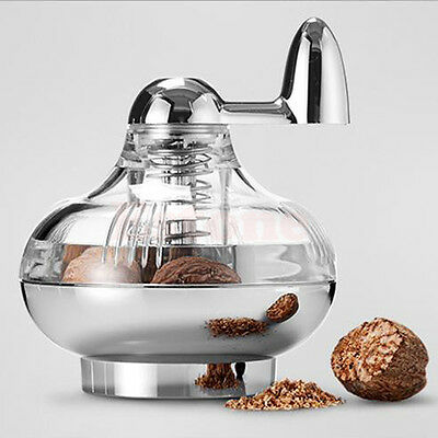 Hot Nutmeg grinder rotary manual spice mill grinding device and grinding bottle