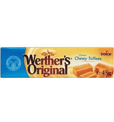 Werthers Toffee Chewy 45g x 24