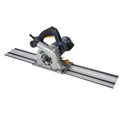 GMC 936962 1050W Compact Plunge Saw 110mm & Track KitGTS1500
