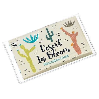 dotcomgiftshop DESERT IN BLOOM GLASSES CLEANING CLOTH