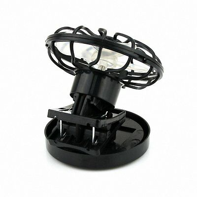 W6 Clip-On Solar Cell Fan Sun Power Energy Panel Cooling