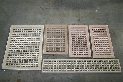 Made To Your Size Large Wood Floor Grate  Wall Register Floor Vent