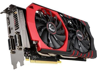 MSI GeForce GTX 970 DirectX 12 VDGTX970GM4G 4GB 256-Bit GDDR5 PCI Express 3.0 x1