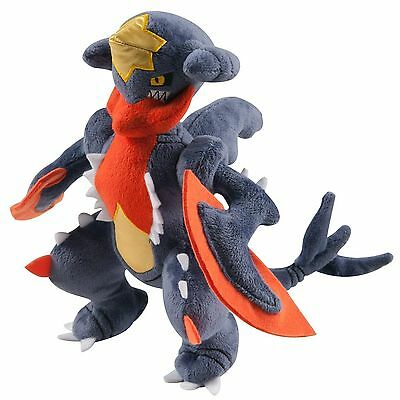 New Pokemon X Y Series  Large Plush Soft Toy - Mega Garchomp T18426 TOMY
