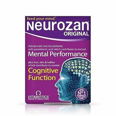 Vitabiotics Neurozan Original Mental Performance - 30 Tablets