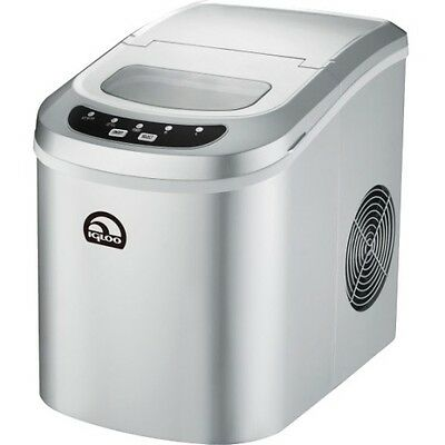 NEW Curtis ICE102CSILVER Portable Ice Maker Igloo Contrtp Icemakr 26lb Slv