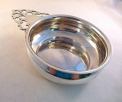 """Large American Coin Silver Porringer  5 1/4"""" bowl diiameter 7.13 troy ounces"""