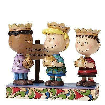 Practice Makes Perfect Three Wise Men Peanuts by Jim Shore 4045874 BNIB Snoopy