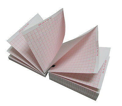 GE MAC 1200 ECG Paper (10 packs - 1500 sheets) (Also fits MAC 1600)