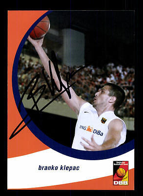Branko Klepac Autogrammkarte Basketball Nationalmannschaft 2004-05+ A 145215