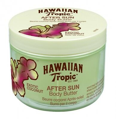 Hawaiian Tropic Aftersun Body Butter Exotic Coconut. Free Delivery
