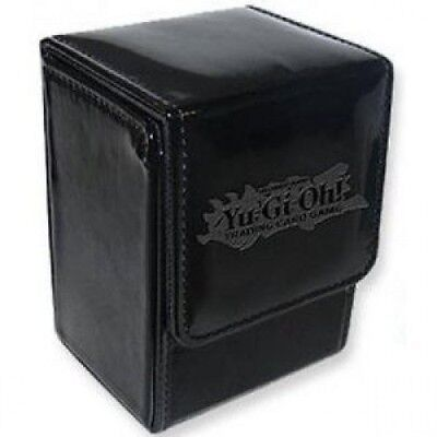 YuGiOh Card Supplies Ion Leather Deck Box Black. Delivery is Free